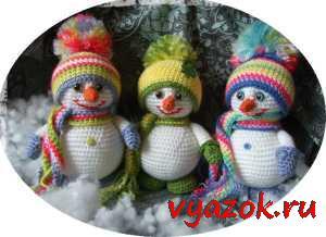 Зима: Новый год, снежинки, елки, снеговики и т.д.